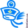 Vector Clipart picture  of a Maritime