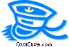 Vector Clip Art graphic  of a sailor's hat