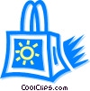 Vector Clip Art graphic  of a Merchandise