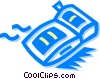 Vector Clip Art image  of a inflatable toys