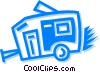 Camp Trailers Vector Clip Art picture