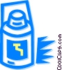 Vector Clip Art graphic  of a water cooler