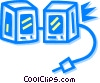 computer speaker Vector Clip Art graphic