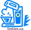 mixers Vector Clip Art graphic