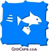 Whales Vector Clipart illustration