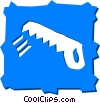 Handsaws Vector Clipart graphic