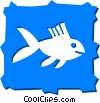 Various Fish Vector Clipart image