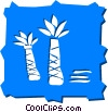 Palm Vector Clip Art graphic