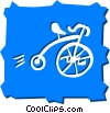 Penny Farthing Vector Clipart picture