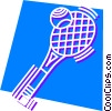 Balls and Rackets Racquets Vector Clipart picture