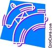 Judo Vector Clipart illustration