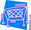 Vector Clipart graphic  of a Trampoline
