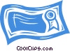 Vector Clipart picture  of a certificate