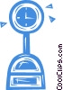 Vector Clipart illustration  of a weight scale