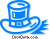 St. Patrick's day hat Vector Clipart illustration