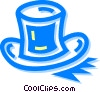 Vector Clip Art graphic  of a top hat