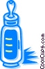 baby bottle Vector Clip Art picture
