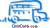 bus Vector Clipart illustration