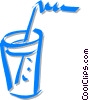 Vector Clip Art picture  of a mixed drink