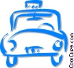 taxicab Vector Clipart picture