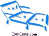 Vector Clipart picture  of a lawn chair
