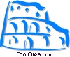 Vector Clipart picture  of a Roman coliseum