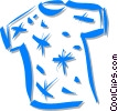 t-shirt Vector Clipart illustration