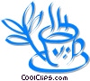 Vector Clipart illustration  of a cup of tea
