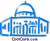 Vector Clipart image  of a mosques