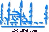 mosque Vector Clipart picture