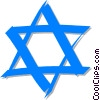 Star of David Vector Clipart picture