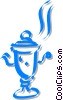 Vector Clipart picture  of a teapot