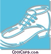shoe Vector Clipart graphic