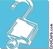 padlock Vector Clipart picture