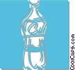 soda pop bottle Vector Clip Art picture