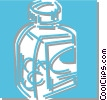 pill bottle Vector Clipart illustration