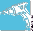 Vector Clipart graphic  of a drill