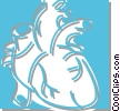 human heart Vector Clipart image