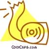 toilet paper Vector Clip Art image