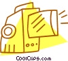 movie projectors Vector Clipart graphic