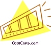Vector Clip Art image  of a photography film
