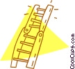 Vector Clipart illustration  of a ladder