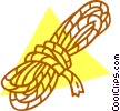 Vector Clipart picture  of a rope