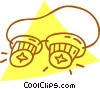 safety goggles Vector Clipart illustration