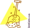 shovel Vector Clipart illustration