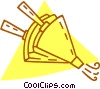 Vector Clip Art picture  of a fireplace blower