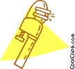 pipe wrench Vector Clip Art picture