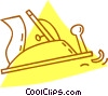 Vector Clipart graphic  of a hand planer