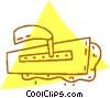 Vector Clipart picture  of a cement spreader