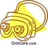 safety goggles Vector Clipart picture